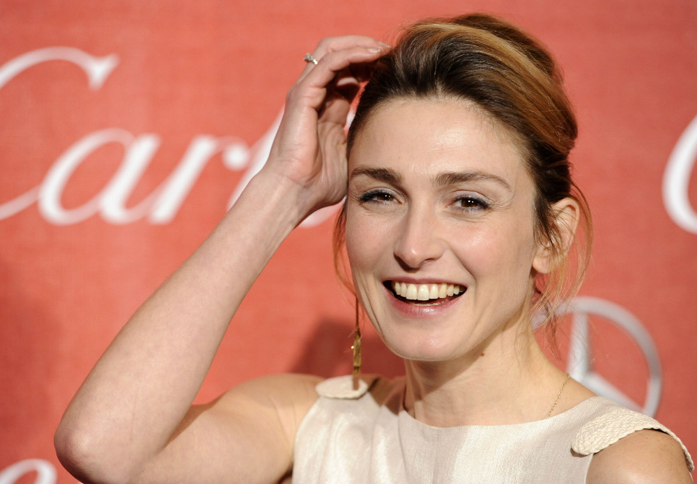 French actress Julie Gayet in a Jan.7, 2012 photo.