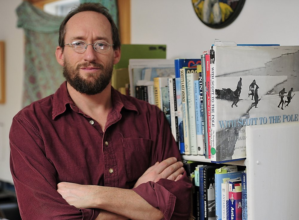 Jason Anthony, at home in Bristol, was selected by the Maine Arts Commission as the state's Literary Fellow for 2014.
