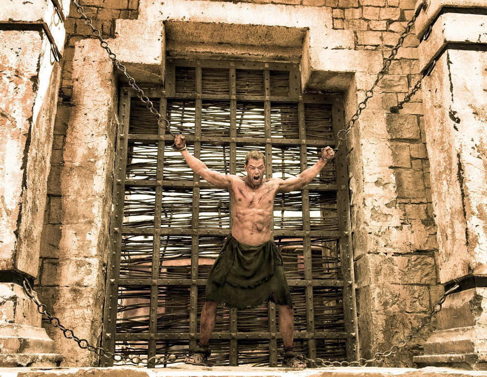 """Kellan Lutz, the latest to portray the muscular hero, in """"The Legend of Hercules,"""" now showing locally."""