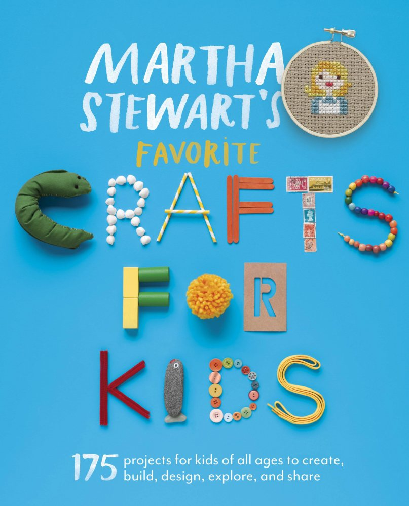 """Martha Stewart's Favorite Crafts for Kids"" (Potter Craft, 2013)."