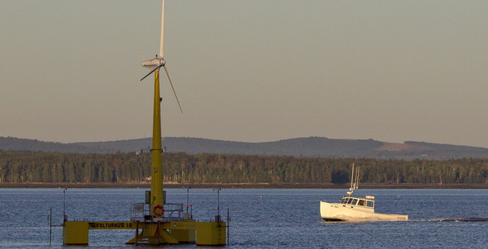 The University of Maine's floating turbine off Castine could be the birth of a new industry that turns Maine's energy production into an asset.