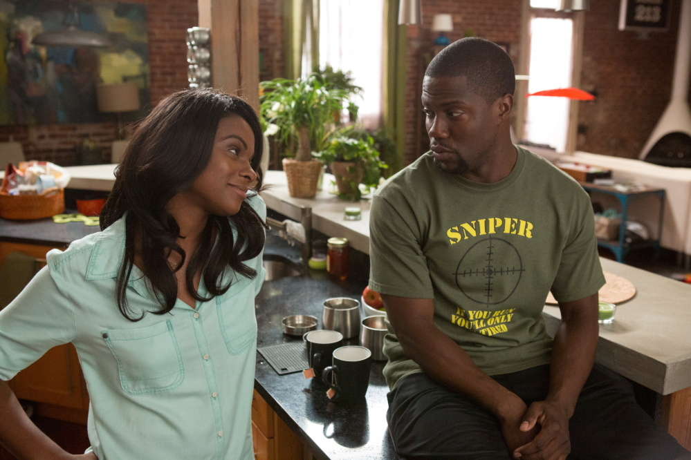Hart's character, Ben, only has eyes for Angela, played by Tika Sumpter.