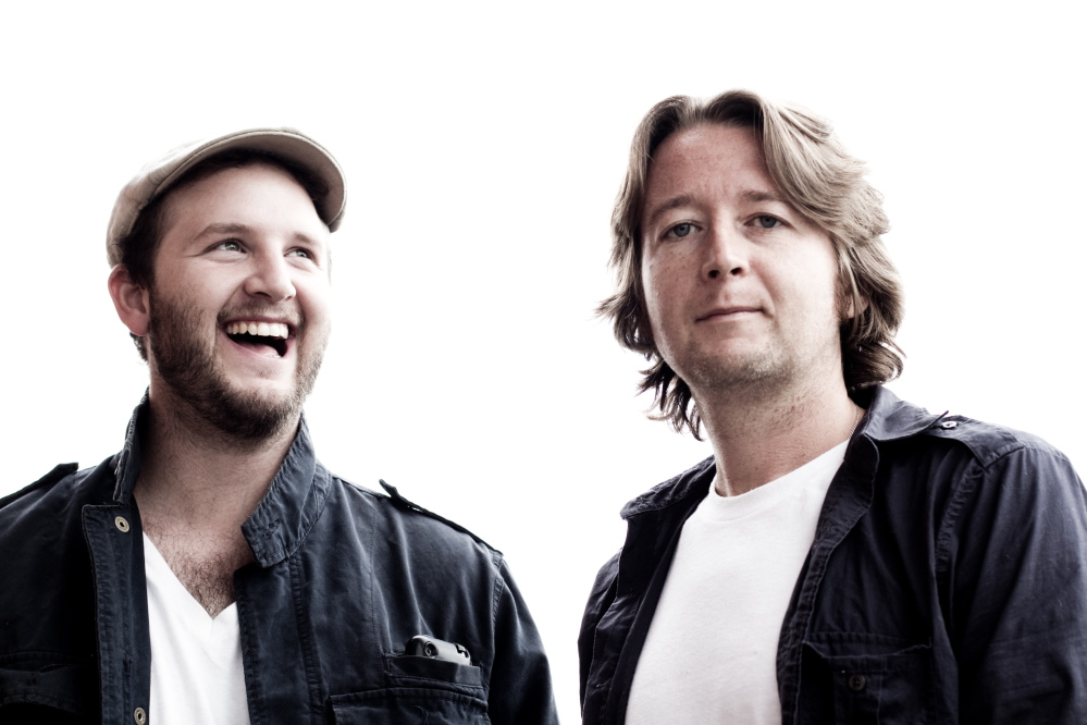 """The Alternate Routes are Tim Warren, left, and Eric Donnelly. Their song """"Nothing More"""" recently was played in its entirety on """"NCIS."""""""
