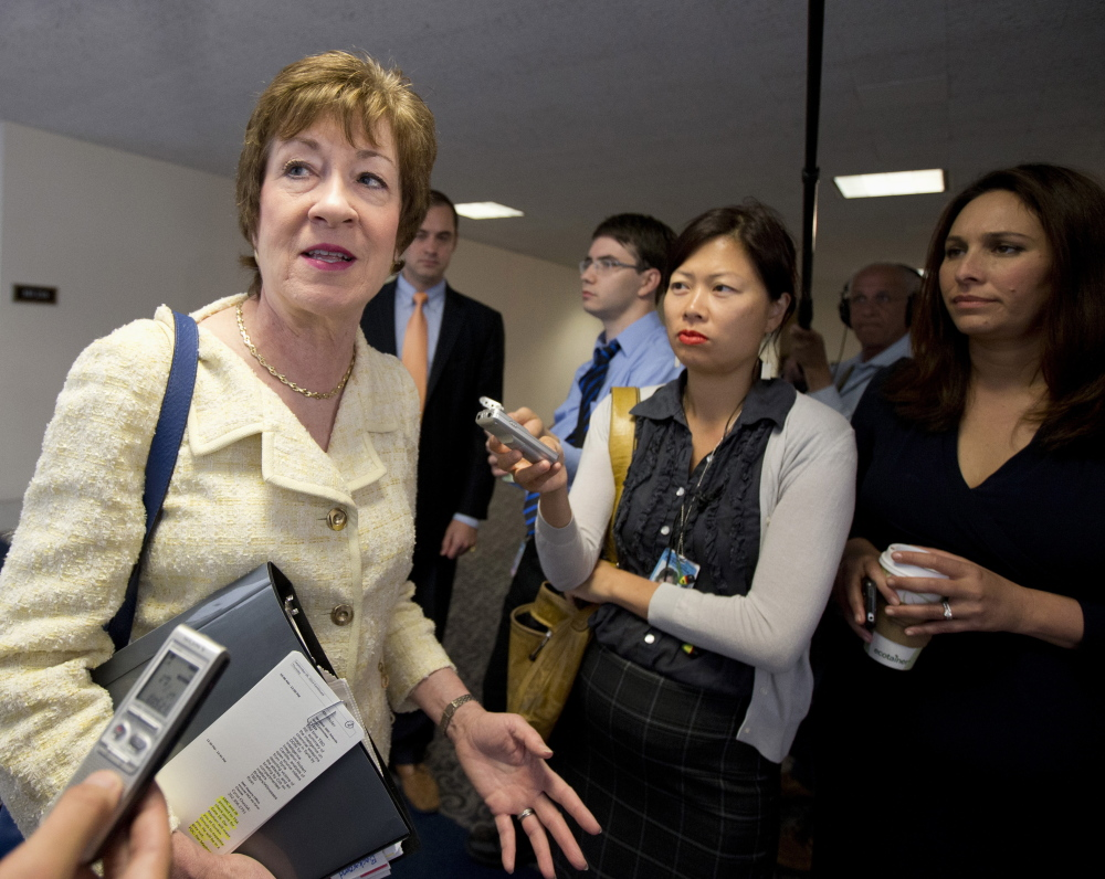 Senate Intelligence Committee member Sen. Susan Collins, R-Maine, believes women bring a more collaborative approach to Congress.