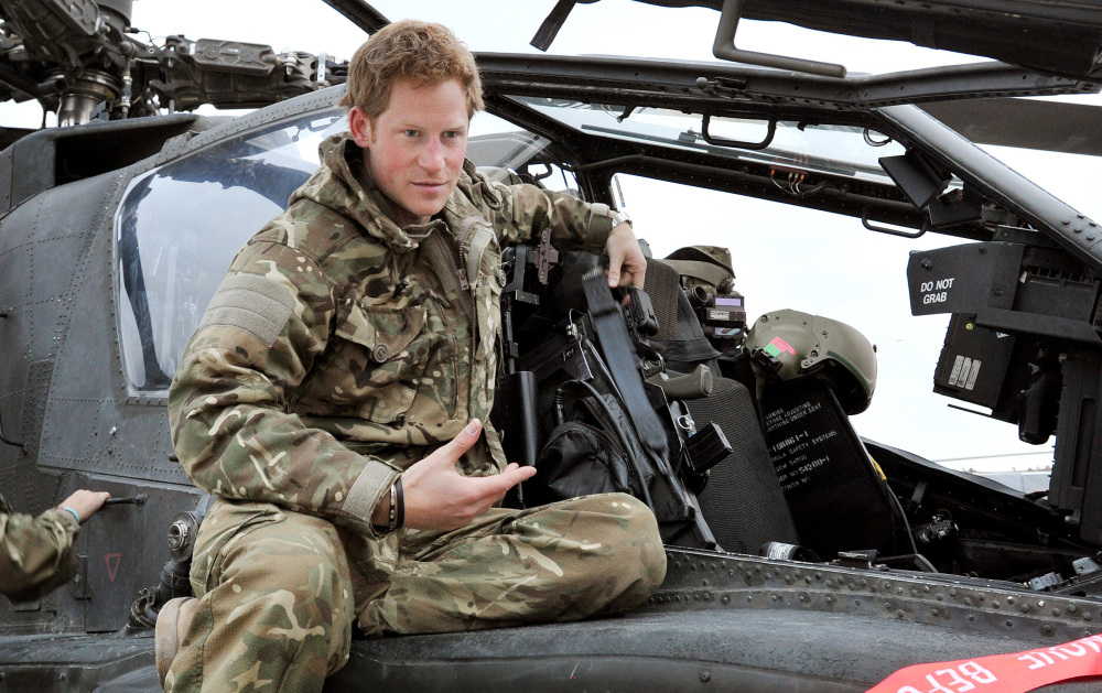Britain's Prince Harry is ending his role as a helicopter pilot and taking up a new job with the army in London.