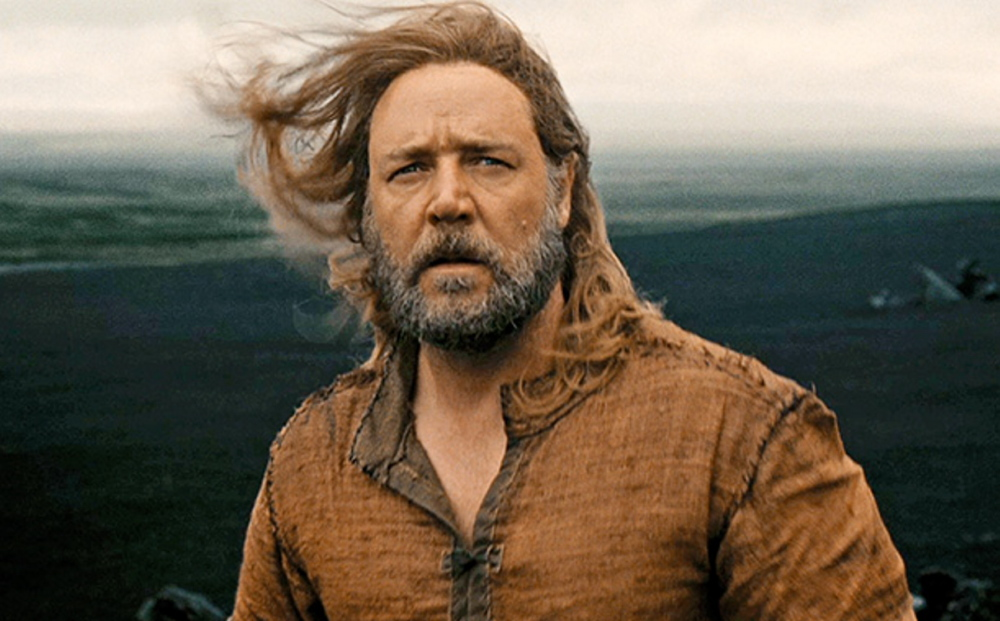 Russell Crowe in the title role of