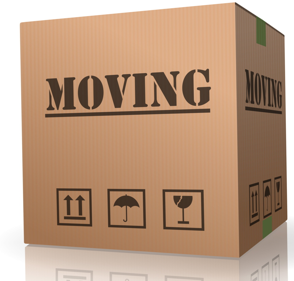 ... and moving.
