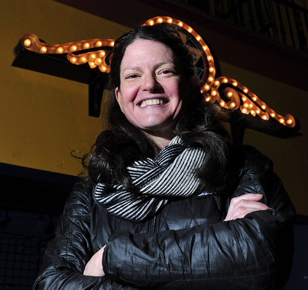 Lauren Wayne, general manager of the State Theatre and Port City Music Hall, books most of the concerts in Maine.