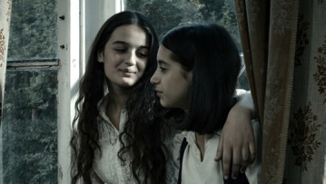 "Mariam Bokeria, left, and Lika Babluani in ""In Bloom."""