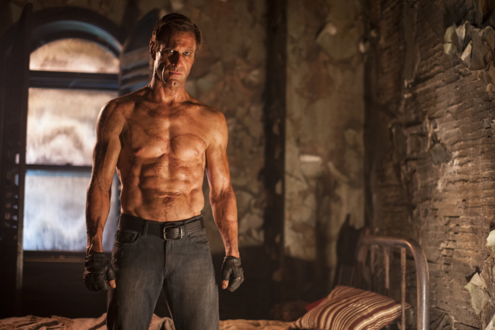 "Aaron Eckhart goes by the name Adam in ""I, Frankenstein,"" which extrapolates on Mary Shelley's 1818 novel."
