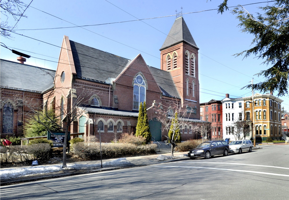 The former Williston-West Church in Portland