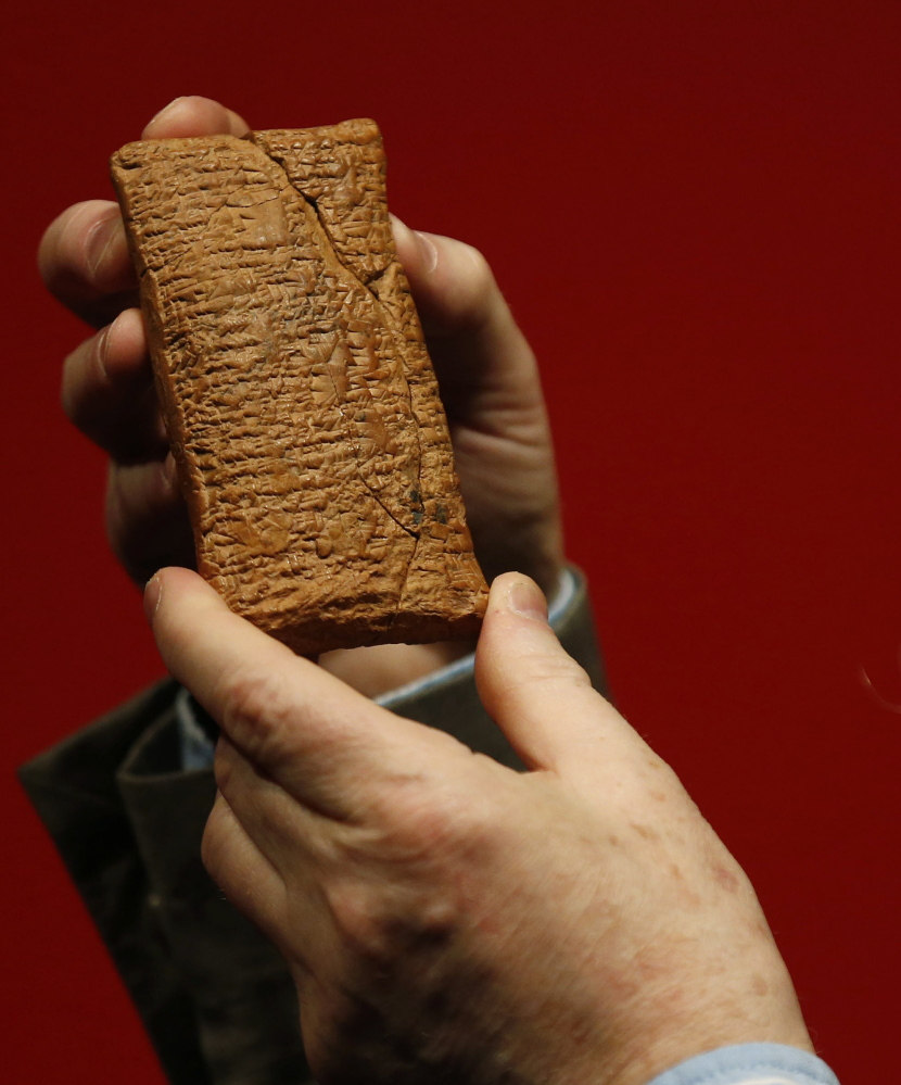 The 4,000-year-old clay tablet that describes how to build a round ark.