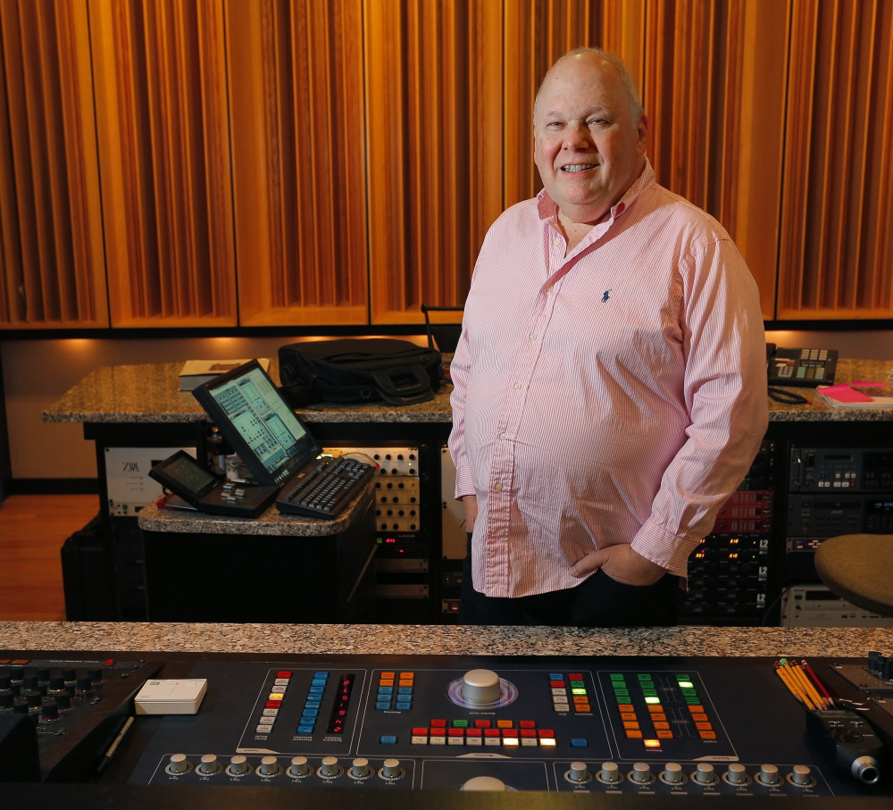 "Bob Ludwig has three Grammys under his belt so far. He won last year for ""Babel"" by Mumford & Sons,"" but a blizzard prevented him from attending. ""I could have been on stage for that one; I could have gotten a kiss from Adele,"" he said."