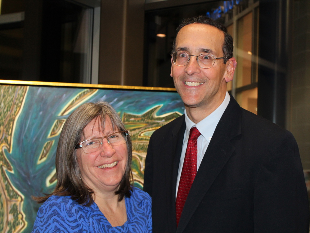 Dr. Peggy Pennoyer, an allergist-immunologist based in Scarborough, and her husband, Dr. Don Endrizzi, an orthopedic surgeon with Maine Medical Partners, were both recognized by their peers as top specialists in their fields.