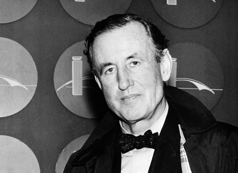 Ian Fleming, creator of James Bond, is shown in 1962. The new BBC America TV series explores his life, which was very much like Bond's. The Associated Press