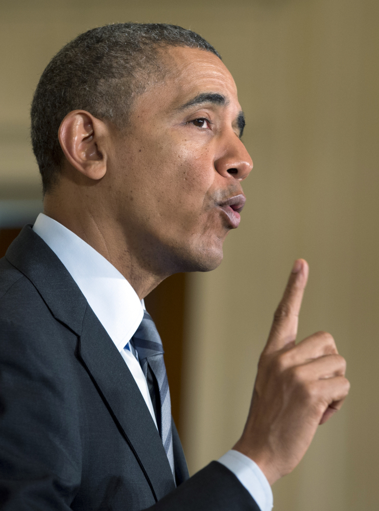 President Obama says he wants to keep immigrant families together by passing an immigration reform bill.