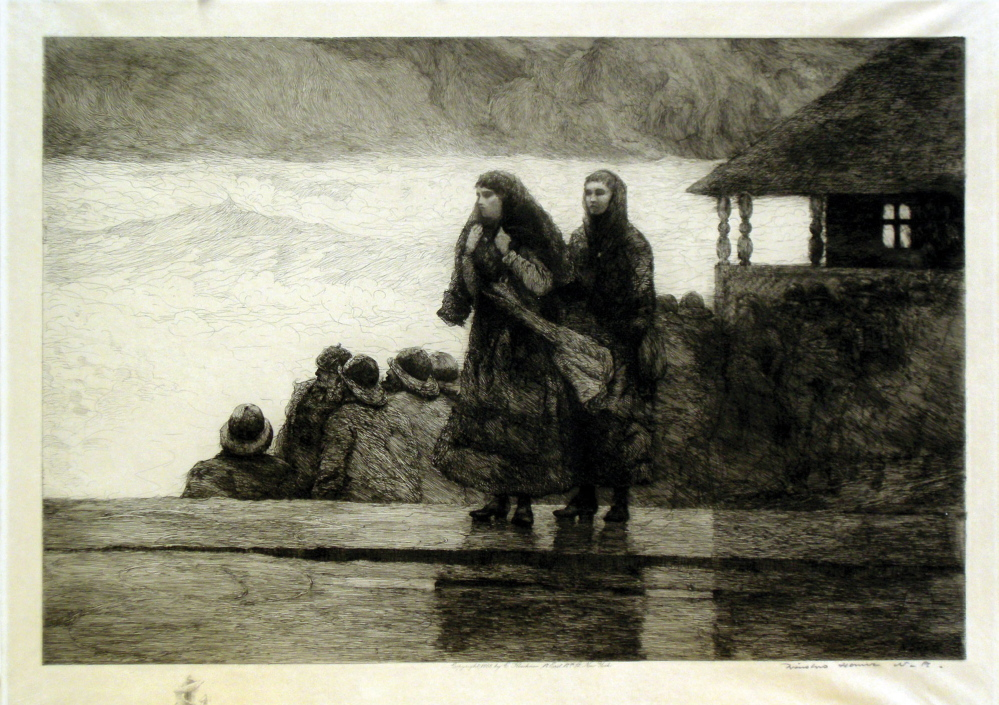 """Perils of the Sea"" by Winslow Homer."