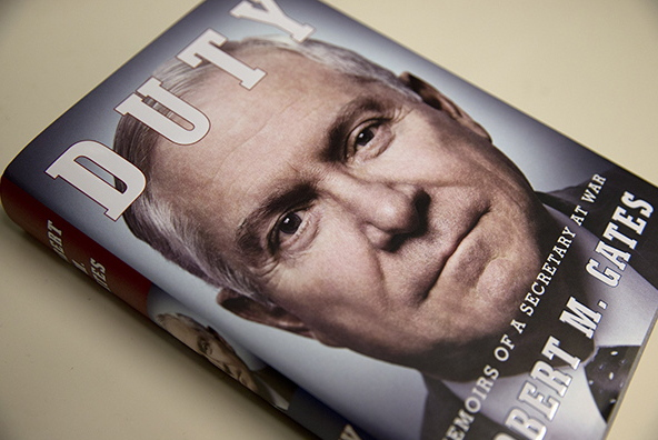 "Former Defense Secretary Robert Gates' highly anticipated book, ""Duty: Memoirs of a Secretary of War,"" was released in January."