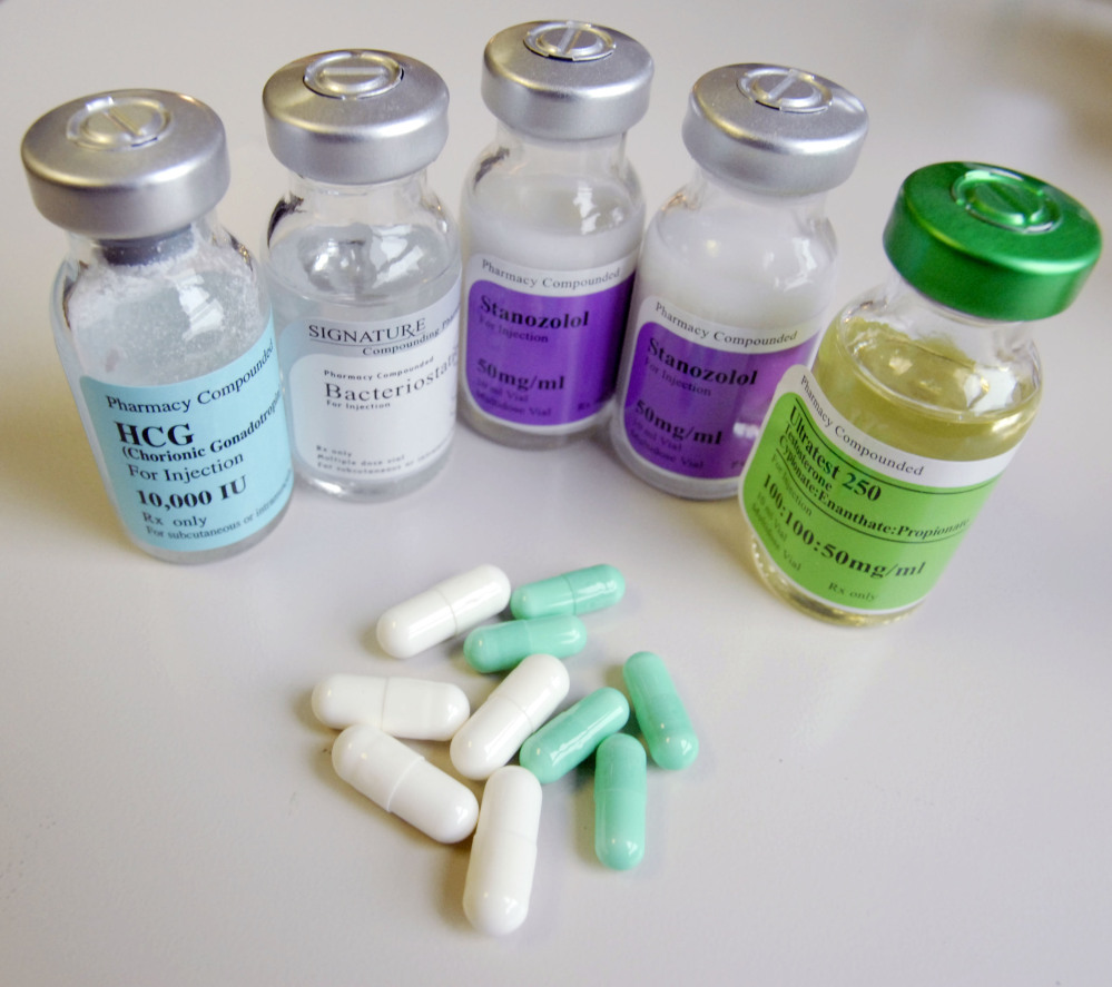 Undercover law enforcement officials purchased these steroids through the mail. Steroids include synthetic versions of the male hormone testosterone. Users take them to promote muscle growth, strength and endurance.
