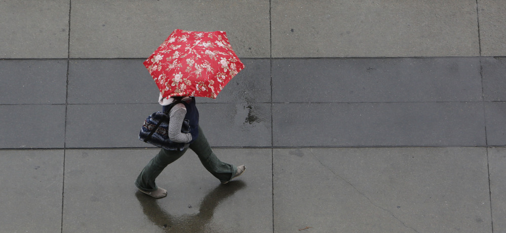 Drought-stricken California is getting some relief as a storm system the likes of which, forecasters say, the region has not seen in more than a year.