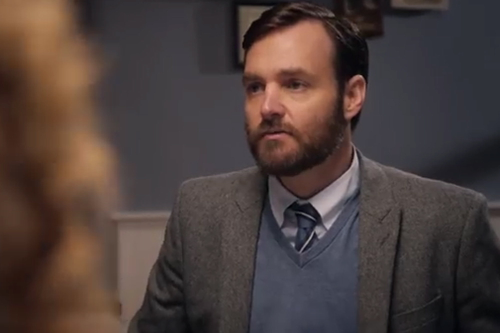 """Will Forte as the American doctor Ted Fielding in """"Run and Jump."""""""