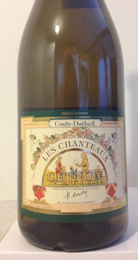 Couly-Dutheil 'Les Chanteaux' 2012 Chinon Blanc is an example of a wine well worth enjoying now and forever.