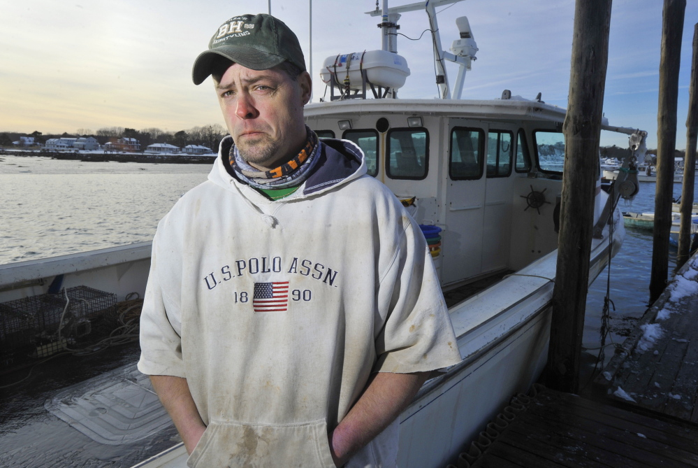 Lucky Oppedisano helped get fellow crewmember Devin Pesce breathing again after he became tangled in rope and trapped underwater for several minutes Wednesday.