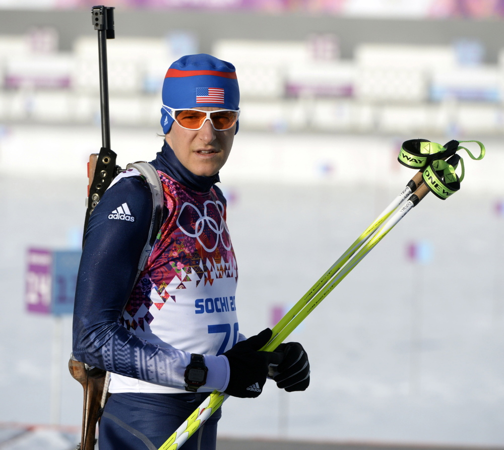 Maine's only Olympian, Russell Currier finishes 50th in a field of 89 in the men's 20-kilometer biathlon – an improvement from his first race at Sochi. He expects to compete in the 4-by-7.5K relay on Feb. 22.