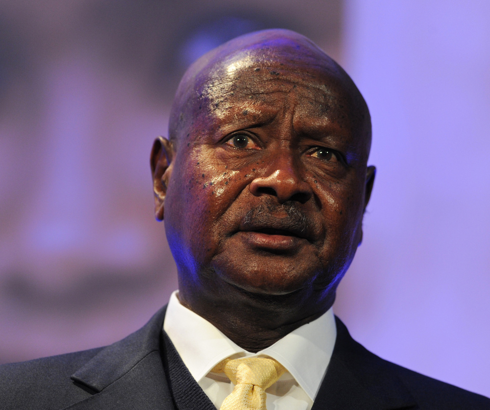 Ugandan President Yoweri Museveni plans to sign a bill prescribing life in prison for some homosexual acts.