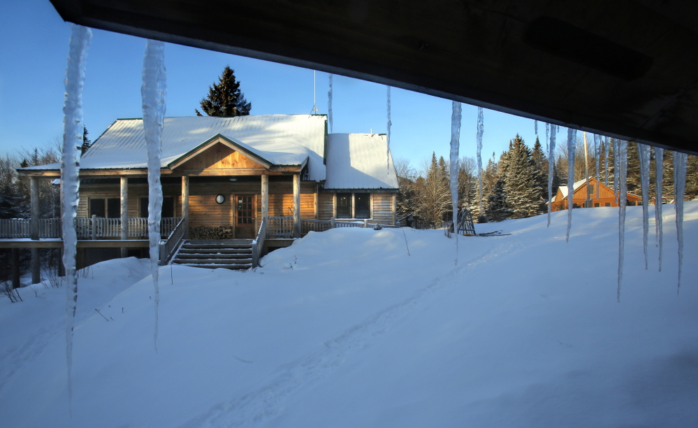 The morning sun hits the main lodge of Little Lyford. In the time since the AMC bought the camp, attendance has gone from 1,769 guests in 2004 to more than 6,000 in 2013, staying at both Little Lyford and the nearby Gorman Chairback Lodge.