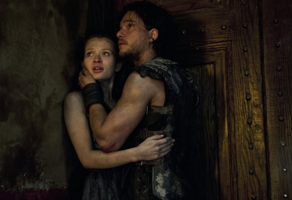 Emily Browning, left, and Kit Harington star in