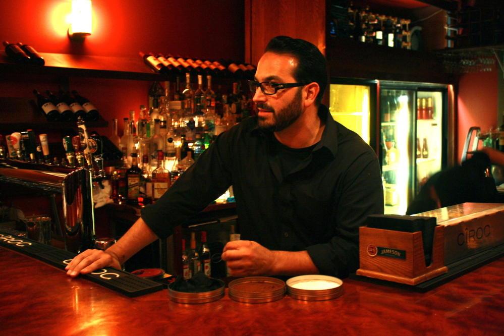 Vinny Migliaccio, nearing 40, was just 26 when he opened Conundrum in Freeport.