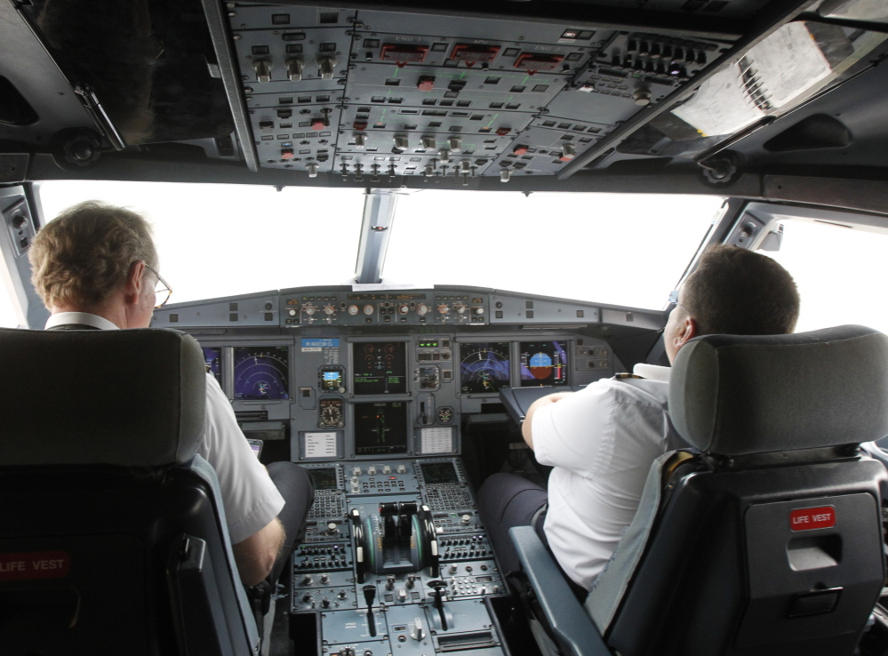 A pilots union says the average starting pay for first officers at regional airlines is $22,400 a year. Pilots often spend over $100,000 on school programs to qualify for commercial flying.