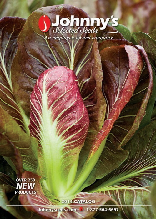 The Johnny's Selected Seeds catalog offers more than 250 new products.