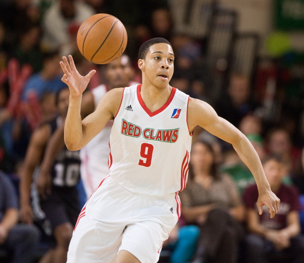 Abdul Gaddy had another strong outing Sunday, recording a rare triple-double of 23 points, 11 rebounds and 10 assists in a 113-104 win against the Austin Toros at the Portland Expo.