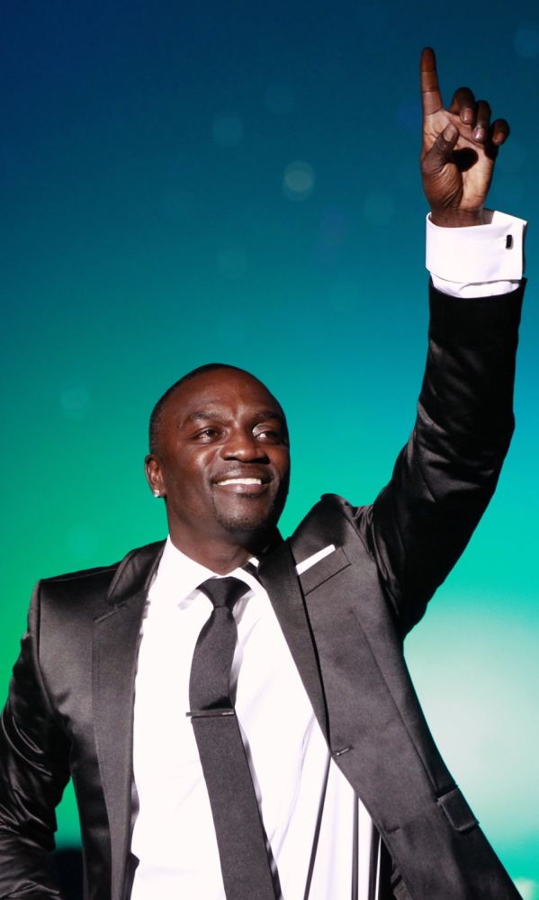 Akon, shown in 2010, says so far his initiative has financed electricity for 100 homes.