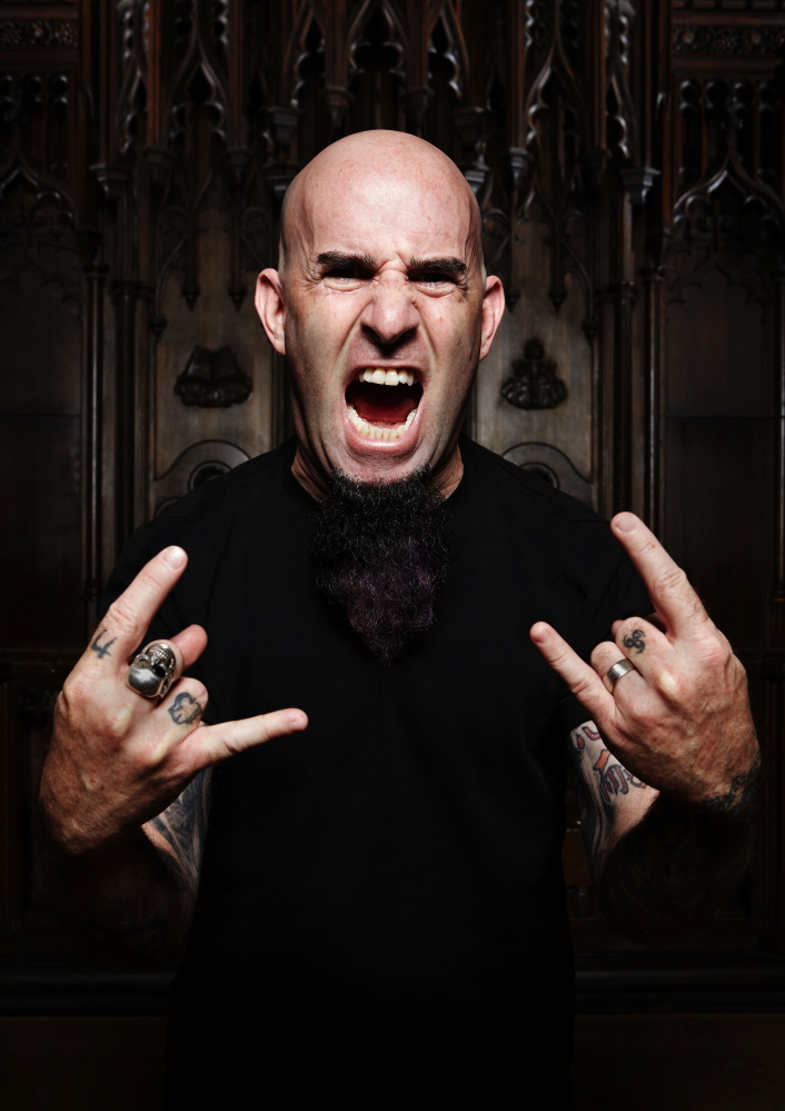 Always comfortable talking to an audience, Scott Ian of Anthrax fame has made a kind of second career of it.