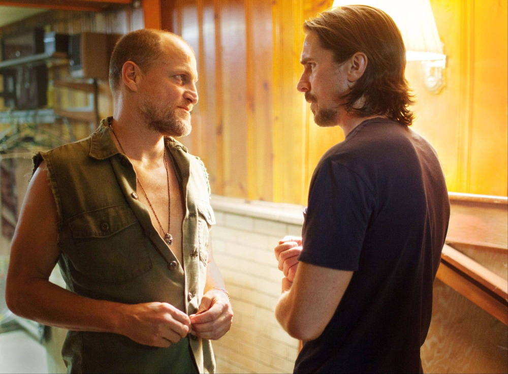"""Woody Harrelson, left, and Christian Bale in """"Out of the Furnace,"""" new to DVD."""