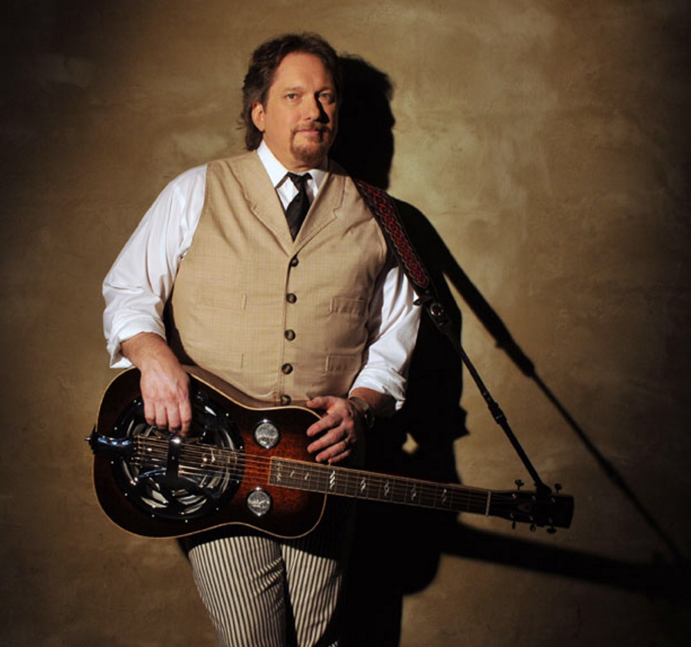 Dobro virtuoso Jerry Douglas is at Stone Mountain Arfts Center in Brownfield on Aug. 12.