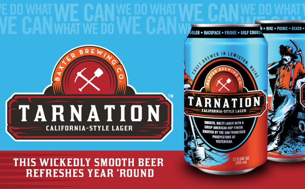 """Tarnation,"" a California-style lager, has quickly become one of our columnist's favored Baxter brews."