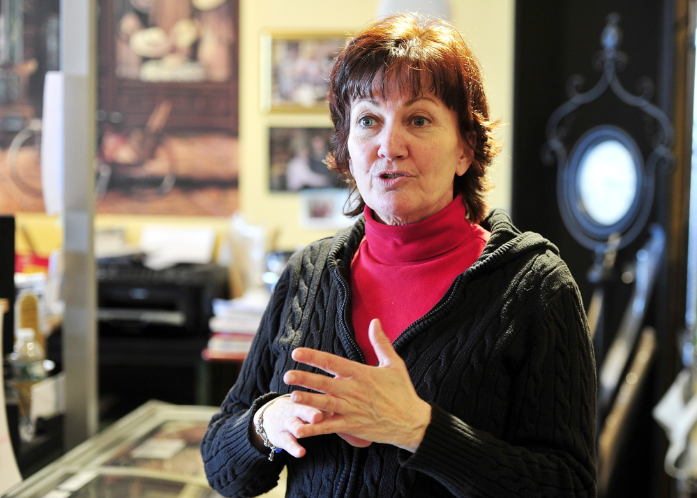 Jane St. Pierre of Scarborough, owner of Kitchen and Cork: The slots debate has
