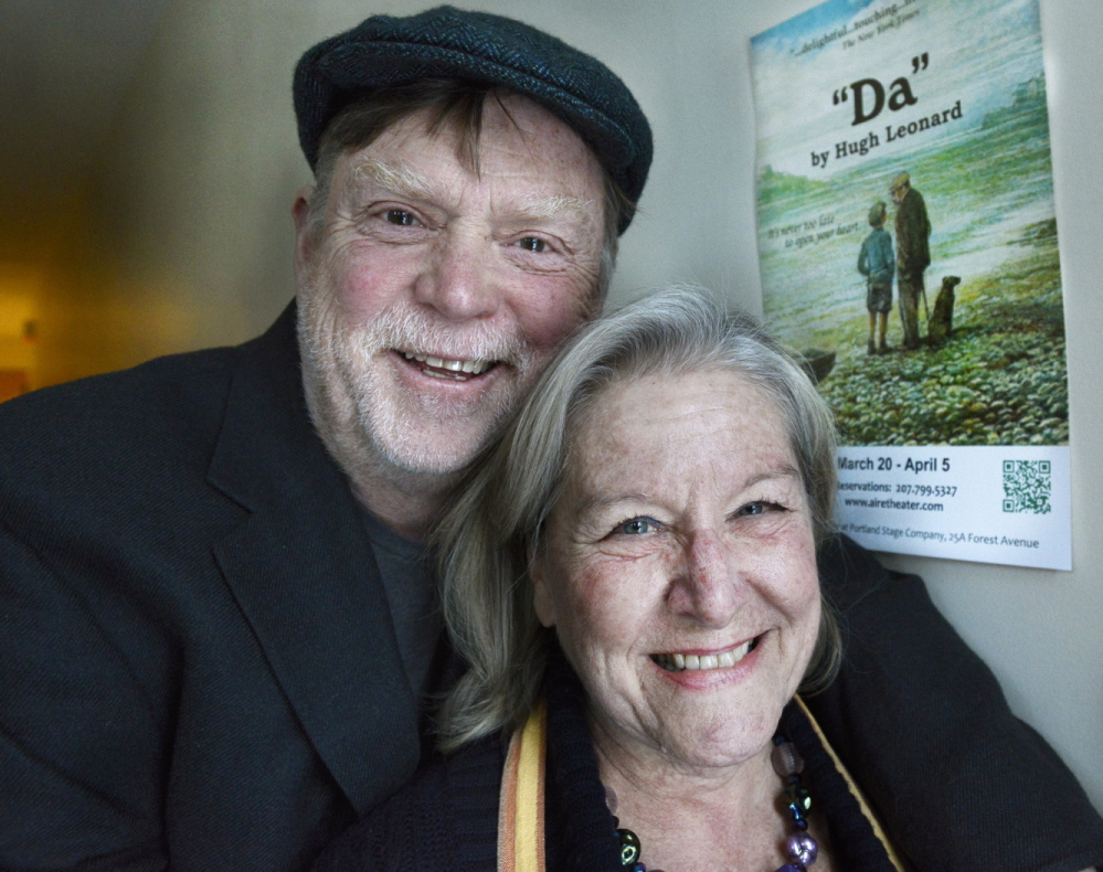 Tony and Susan Reilly of the American Irish Repertory Ensemble.