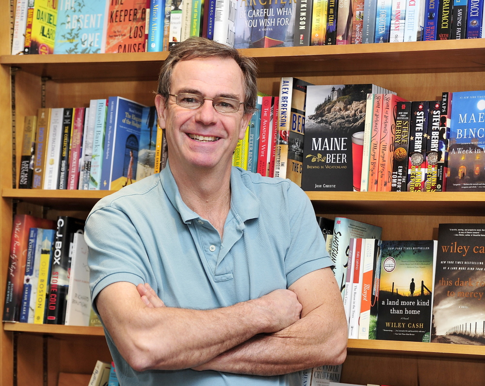Owner Jeff Curtis has invested 25 years in Sherman's Books and Stationery, and plans to open the company's fifth store, at 43 Exchange St. in Portland, on April 1.
