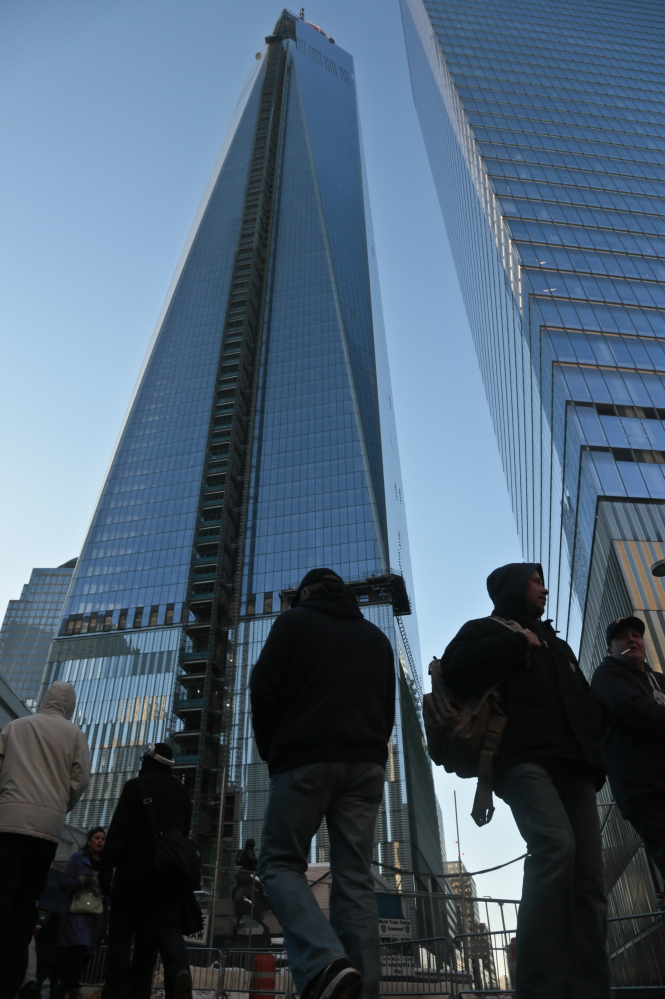 The new World Trade Center, the nation's tallest building.