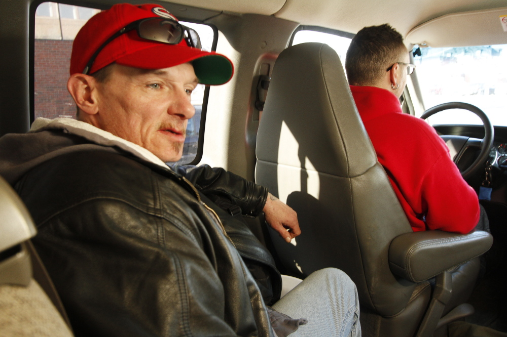 """These guys go above and beyond,"" said Kevin Stone, 43, who uses the transport service almost every day. The HOME Team takes its indigent clients to Milestone Foundation, a city shelter that offers a far less costly option than the police station or hospitals."
