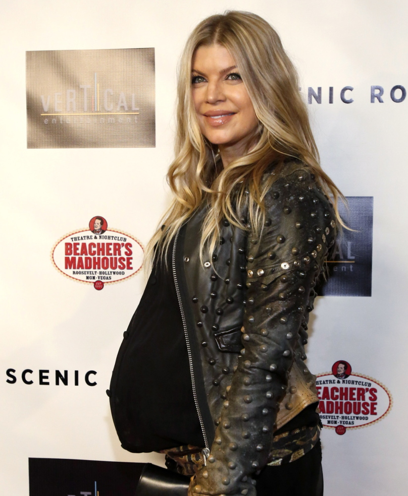 Fergie Duhamel, singer for the Black Eyed Peas, says laws against abusing women need to be better enforced.