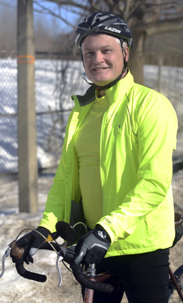 Keith Harris, 49, faced a brush with death in 2008. Now he's set to bike across the country to raise money for The Rotary Foundation and Anna Jaques Hospital in Newburyport, Mass.
