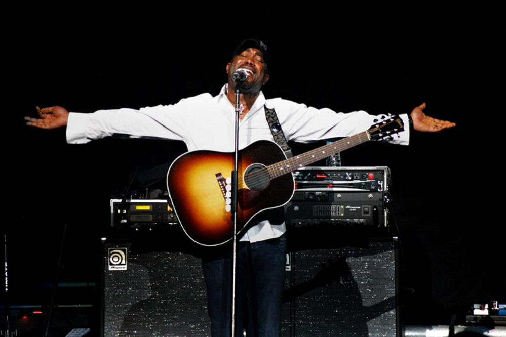 Darius Rucker plays the Cumberland County Civic Center in Portland on Saturday.