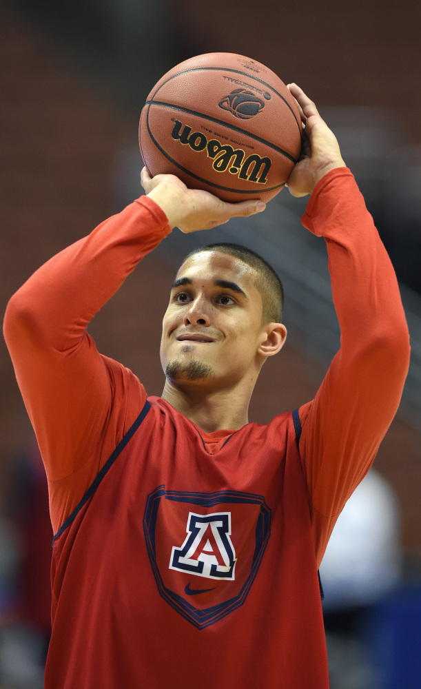 Nick Johnson, the nephew of NBA Hall of Famer Dennis Johnson, is primed to lead Arizona through the regional and to the Final Four.