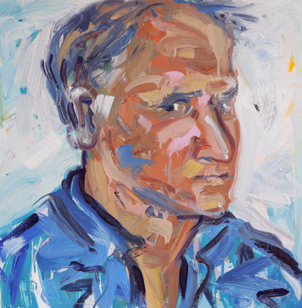 A recent portrait by Stonington painter Jon Imber.